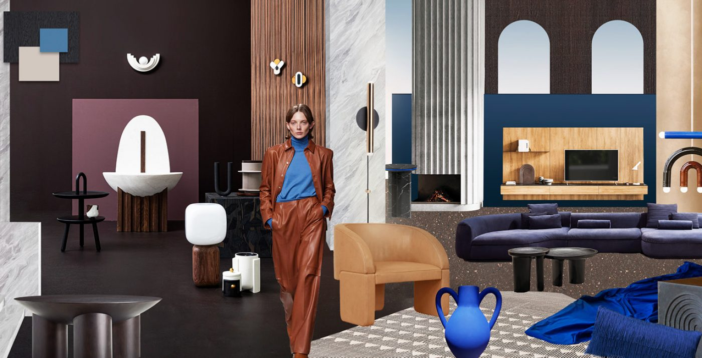 Trend All eyes on brown & blue - Trend Compass